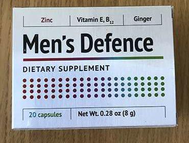 Упаковка mens defence для потенции