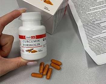 Капсулы DUO C&F для похудения и их упаковка.